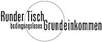 Logo: Runder Tisch - Grundeinkommen