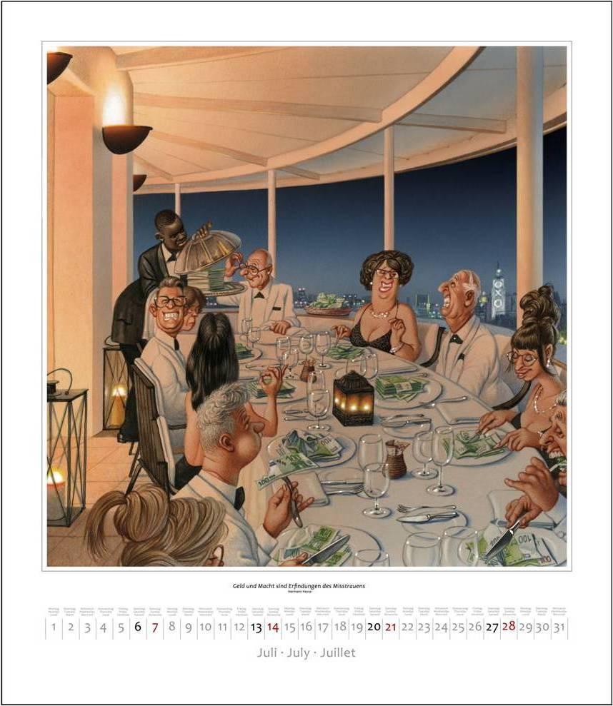 Gerhard Haderer BGE-Kalender 2020