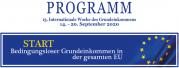 Programm zur 13. Int. WdGE in Österreich